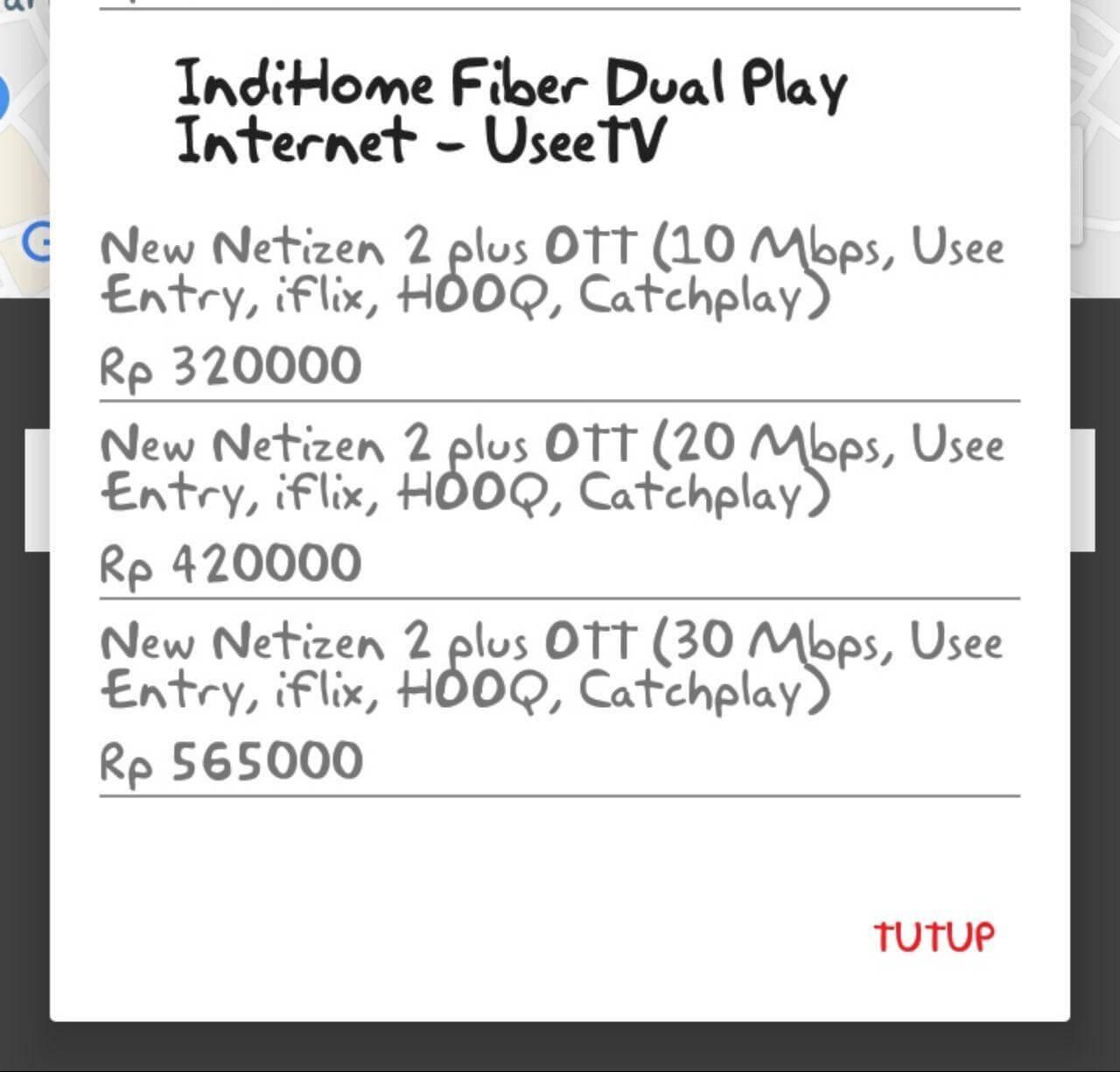 IndiHome Paket Netizen 2
