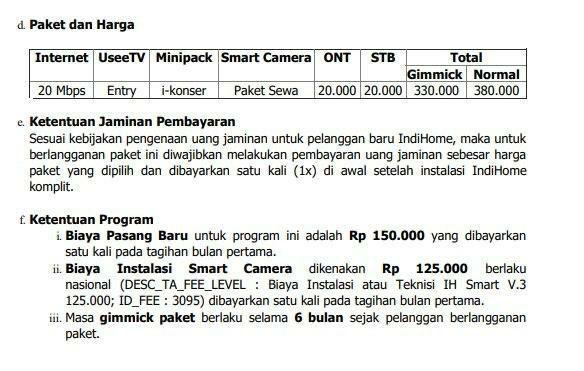 SBR IndiHome Stay Safe With Smart Camera CCTV